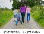 editorial use only  family...   Shutterstock . vector #1019510827