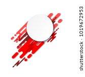 dynamic geometric background...   Shutterstock .eps vector #1019672953