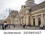 moscow  russia   october 22 ... | Shutterstock . vector #1019691427