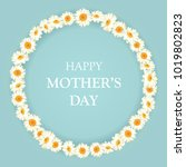 mothers day background with... | Shutterstock .eps vector #1019802823