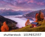 Amazing Autumn Landscape On...