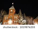 the local town courthouse in a... | Shutterstock . vector #1019876203