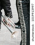 Small photo of Trumpet of a Mariachi.