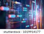digital code number abstract... | Shutterstock . vector #1019914177