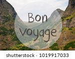 valley and mountain  norway ... | Shutterstock . vector #1019917033