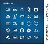 industry 4.0   industrial... | Shutterstock .eps vector #1019942767