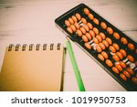 mental arithmetic background | Shutterstock . vector #1019950753