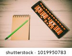mental arithmetic background | Shutterstock . vector #1019950783
