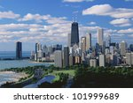 Chicago, Lincoln Park & Diversey Harbor - stock photo