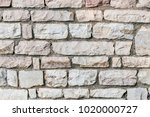 old stone wall  background ...   Shutterstock . vector #1020000727