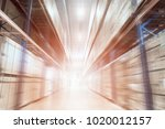 photo for business logistic ... | Shutterstock . vector #1020012157