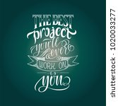 stylized inspirational...   Shutterstock .eps vector #1020033277