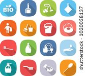 flat vector icon set   bio... | Shutterstock .eps vector #1020038137