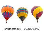 Colorful Hot Air Balloons...