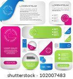 hi quality web elements for... | Shutterstock .eps vector #102007483