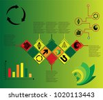 abstract infographic background....   Shutterstock .eps vector #1020113443