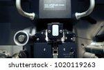 telecine machine semi analog...   Shutterstock . vector #1020119263