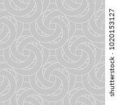 gray and white geometric... | Shutterstock .eps vector #1020153127
