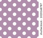seamless vector pattern with... | Shutterstock .eps vector #1020168787