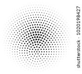 halftone element. abstract...   Shutterstock .eps vector #1020198427