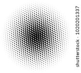 halftone element. abstract... | Shutterstock .eps vector #1020201337