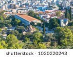 view of athens from areopagus | Shutterstock . vector #1020220243