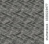 abstract monochrome chevron... | Shutterstock .eps vector #1020223477