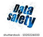 information concept  pixelated... | Shutterstock . vector #1020226033