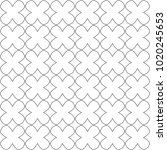 seamless ornamental vector... | Shutterstock .eps vector #1020245653