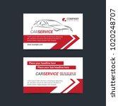 automotive service business... | Shutterstock .eps vector #1020248707