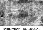 texture grunge. black and white ... | Shutterstock . vector #1020302023