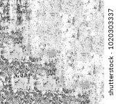 grunge black white. monochrome... | Shutterstock . vector #1020303337
