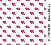 seamless pattern from hearts on ... | Shutterstock .eps vector #1020318193