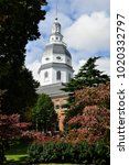The Maryland State House...
