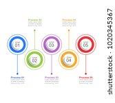 infographic design template...   Shutterstock .eps vector #1020345367
