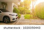home happy concept . beautiful...   Shutterstock . vector #1020350443