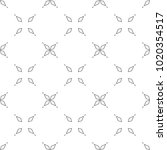 seamless vector pattern in... | Shutterstock .eps vector #1020354517