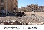 poverty in egypt | Shutterstock . vector #1020355513