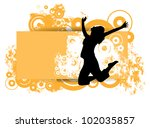 party poster | Shutterstock .eps vector #102035857