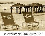 tel aviv  israel   december 28  ... | Shutterstock . vector #1020389737