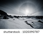 The Solar Halo In The Mountains