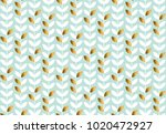 elegant gold and pale green...   Shutterstock .eps vector #1020472927