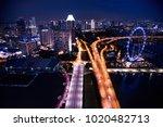 singapore  december 20 2017  ... | Shutterstock . vector #1020482713