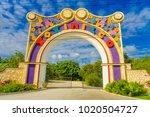 coyoacan  mexico   january 10 ... | Shutterstock . vector #1020504727
