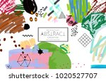 abstract universal art web... | Shutterstock .eps vector #1020527707