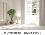 white empty room with home...   Shutterstock . vector #1020554917