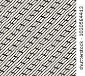 simple ink geometric pattern.... | Shutterstock .eps vector #1020584413