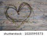 Heart Shape Made Of Birch Twig...