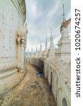 mya thein tan pagoda  mingun ... | Shutterstock . vector #1020674257