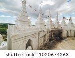 mya thein tan pagoda  mingun ... | Shutterstock . vector #1020674263